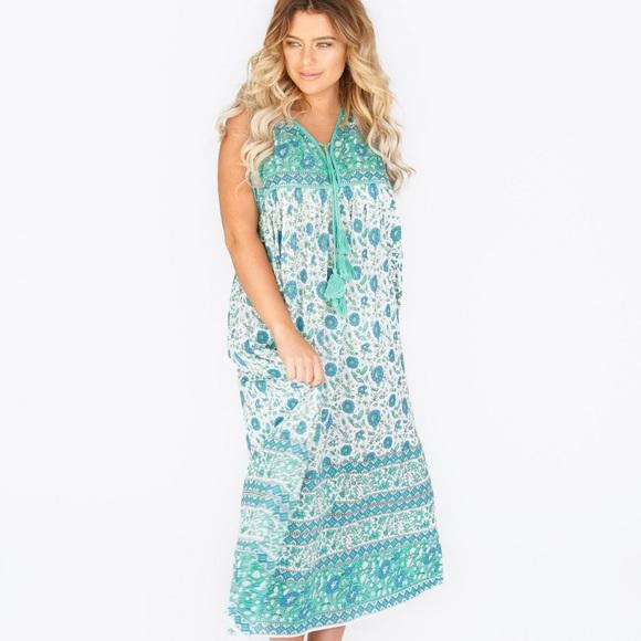 81db2514f2 Little Miss Gypsy Kaya boho maxi dress ☮️